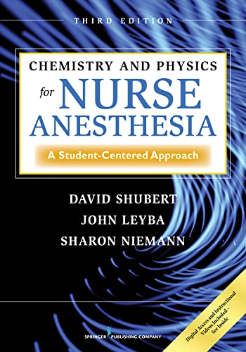 CHEMISTRY AND PHYSICS FOR NURSE ANESTHESIA, 3/E
