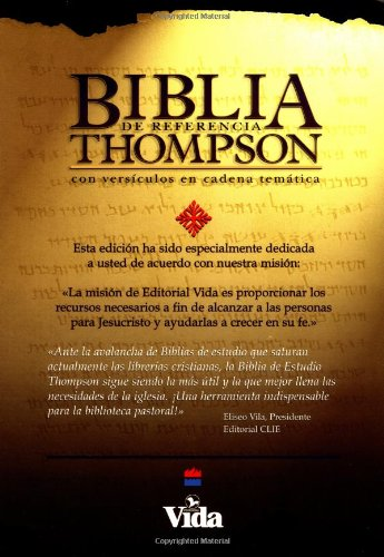 Biblia de Referencia Thompson: 1960 Reina-Valera Revision, piel especial negra (Thompson Chain-Reference Study Bible, black bonded leather)