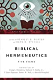 Biblical Hermeneutics: Five Views book cover