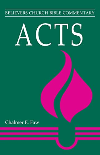 PDF Acts Believers Church Bible Commentary Free EBooks