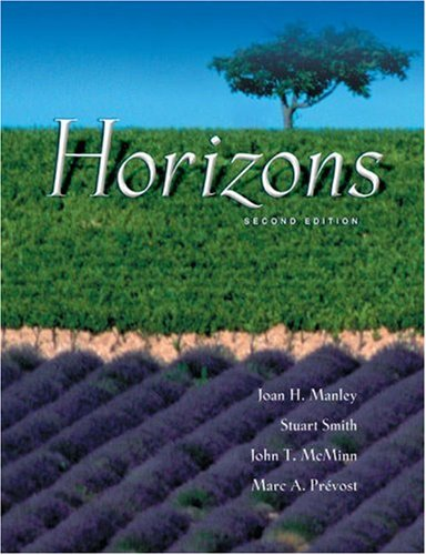 Horizons Text/Audio CD Package