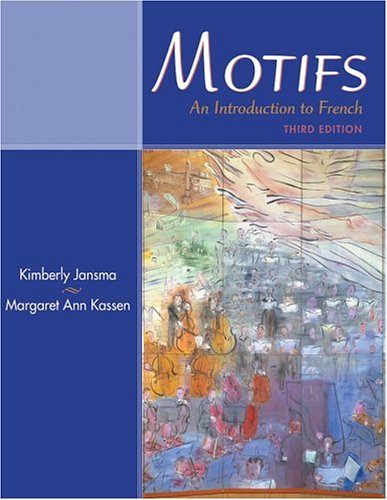 Motifs : An Introduction to French (with Audio CD)
