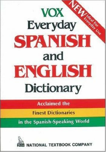 Vox Everyday Spanish and English Dictionary, Vox