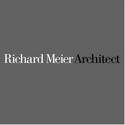 Richard Meier Architect Vol 4 by Kenneth Frampton, Richard Meier, Joseph Rykwert