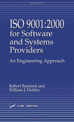 PDF Iso 9001 2000 for Software and Systems Providers An Engineering Approach