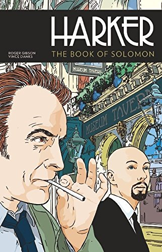 Harker: The Book of Solomon cover