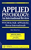 Buy Work and Personality: A Special Issue of the Journal, Applied Psychology, an International Review from Amazon