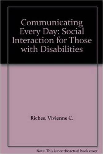 EVERYDAY SOCIAL INTERACTION: A PROGRAM FOR PEOPLE WITH DISABILITIES