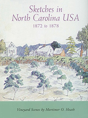 Sketches in North Carolina USA, 1872-1878: Vineyard Scenes by Mortimer O. Heath