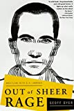 Book Cover: OUT OF SHEER RAGE by Geoff Dyer