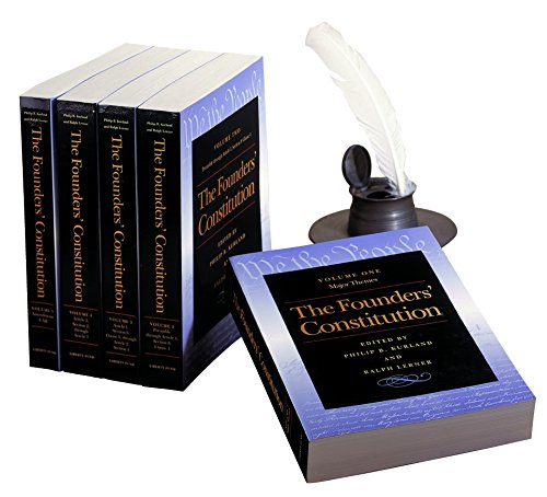 The Founders' Constitution (5 Volume Set), Kurland, Philip; Lerner, Ralph