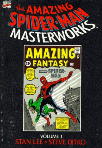 Amazing Spider-Man Masterworks Volume 1 Cover