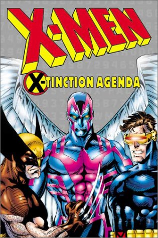 X-Men: X-Tinction Agenda Cover