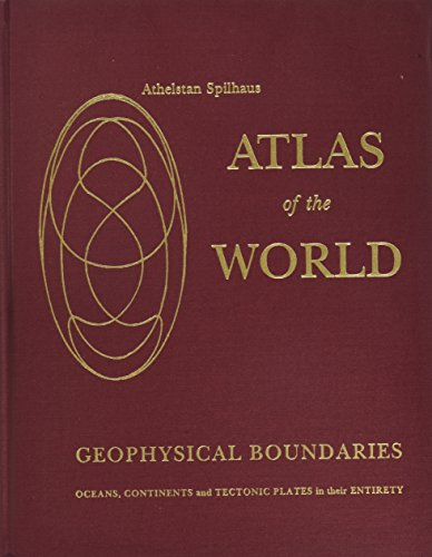 Atlas of the World with Geophysical Boundaries Showing Oceans, Continents, and Tectonic Plates in Their Entirety