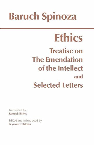 The Ethics and Selected Letters, by Spinoza, B.