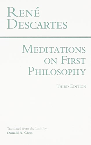 Meditations on First Philosophy Book Cover Picture
