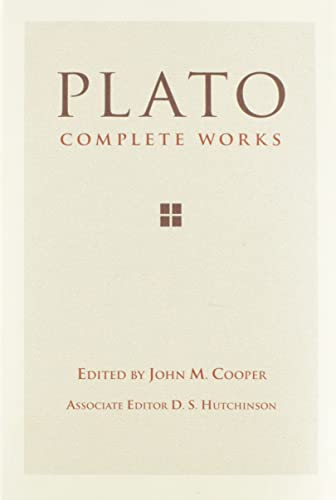 Plato: Complete Works Book Cover Picture