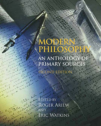Modern Philosophy: An Anthology of Primary Sources Book Cover Picture