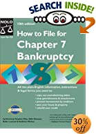 How to File for Chapter 7 Bankruptcy, 10th Edition - Book, Books, Advice, Advisor, Counselor