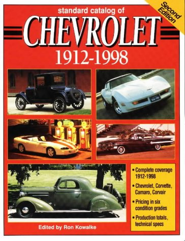 Standard Catalog of Chevrolet, 1912-1998