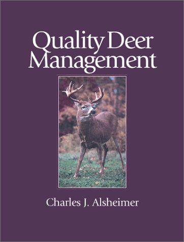 quality deer management essay Quality deer habitat includes a mixture of trees, shrubs, vines, forbs, grasses and other plants such as fungi and sedges certain plants within each of these categories benefit deer more than others.