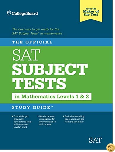 The Official Sat Subject Tests in Mathematics Levels 1 & 2