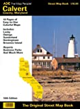 Adc's Calvert Country Maryland Street Atlas Book