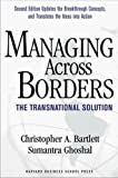Buy Managing Across Borders: The Transnational Solution, 2nd Edition from Amazon