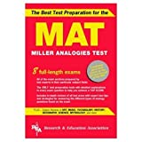 The Best Test Preparation for the Mat: Miller Analogies Test (Rea Test Preps)