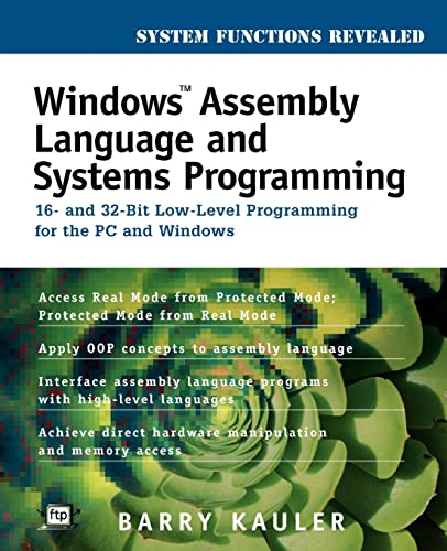 Pdf Windows Assembly Language And Systems Programming 16 And 32