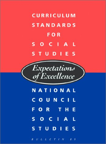 Blue and red cover of Expectations of excellence