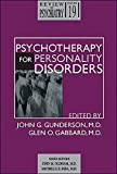 Psychotherapy for Personality Disorders
