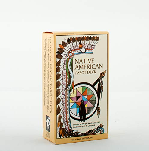 Native American Tarot Deck (Religion and Spirituality), Magda Weck Gonzalez