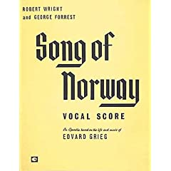 song of norway vocal score
