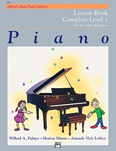 Best Seller Book Piano Lesson Book Complete Level 1 For The