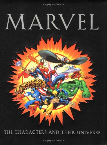 Marvel: The Characters And Their Universe Cover