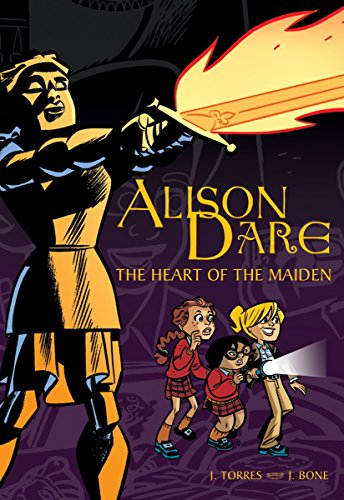 Alison Dare: The Heart of the Maiden cover