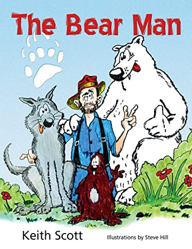 The Bear Man's Coloring Book, Scott, Keith