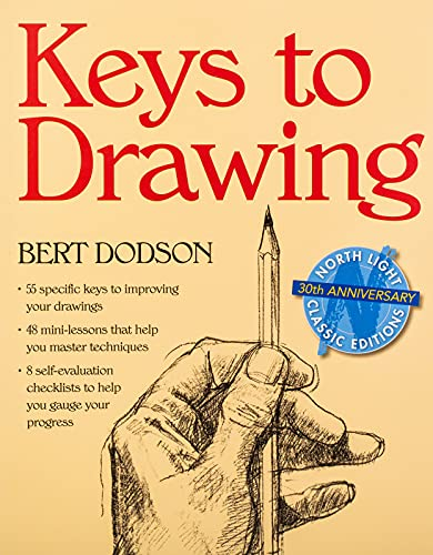 Keys to Drawing Book Cover Picture