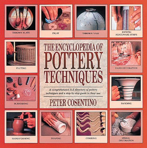 Book cover for The encyclopedia of pottery techniques.