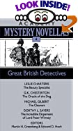Great British Detectives (Academy Mystery Novellas, No 4) by  Edward D. Hoch (Editor), Martin Harry Greenberg (Editor) (Paperback - November 1987) 