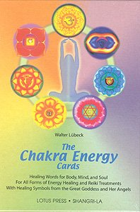 Chakra Energy Cards, The Book and Card Set, Luebeck, Walter