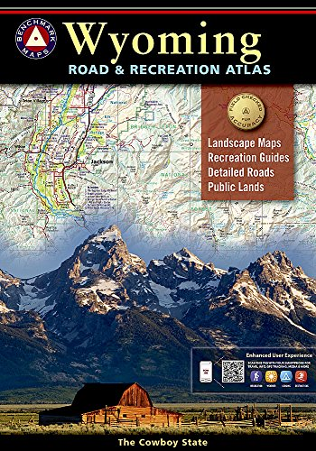 Wyoming Benchmark Road & Recreation Atlas - National Geographic Maps