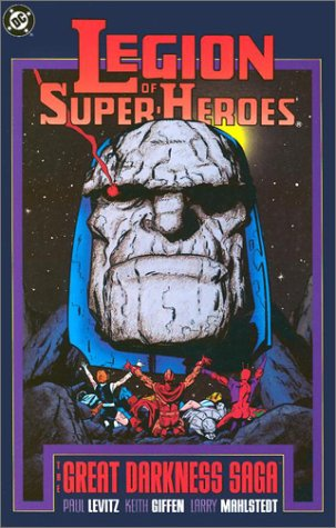 Legion of Super Heroes: The Great Darkness Saga Cover