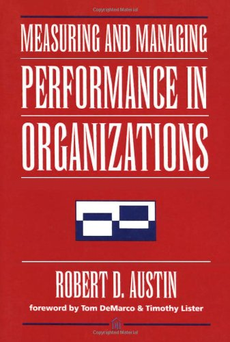 366. Measuring and Managing Performance in Organizations