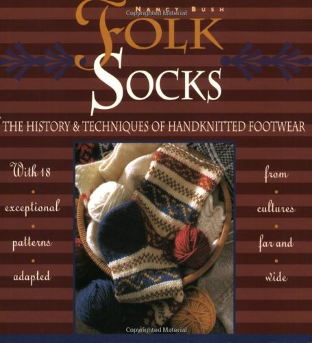 cover: Folk Socks: The History and Techniques of Handknitted Footwear