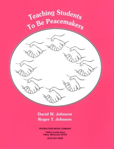 Teaching Students to Be Peacemakers Cover Art