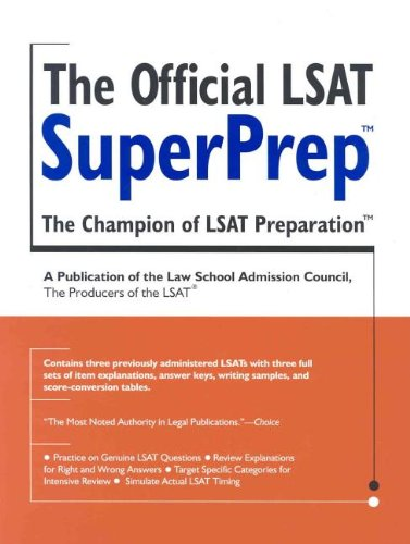 Bookbest reference test prep central the official lsat superprep malvernweather Choice Image