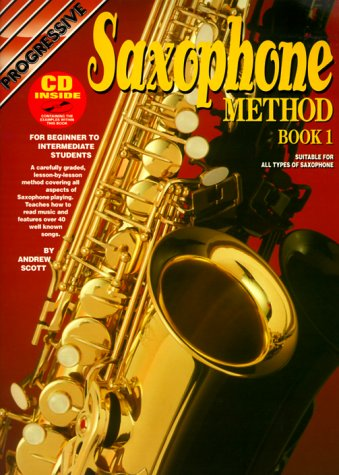 Saxophone Method with CD (Audio), Scott, Andrew