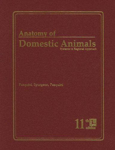 Anatomy of Domestic Animals: Systemic & Regional Approach - Chris Pasquini, Tom Spurgeon, Susan Pasquini